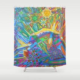 Bandhasana - 2013 Shower Curtain