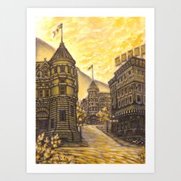 Nelson City Art Print
