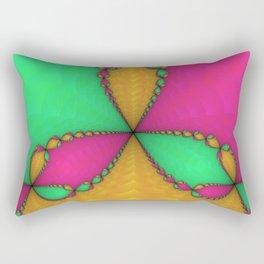 Newton Fractal Rectangular Pillow