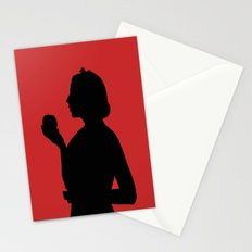 Snow White Silhouette  Stationery Cards