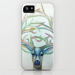 Deer Lord iPhone Case