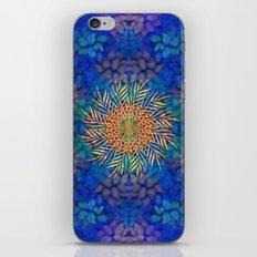 Palm Leaves Mandala iPhone & iPod Skin