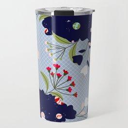 Natural Space Print Travel Mug