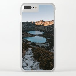 Mountain Ponds - Landscape and Nature Photography Clear iPhone Case