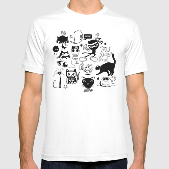 Cat Menagerie T-shirt