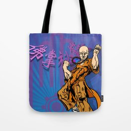 The Fury of the Buddha's Palm Tote Bag