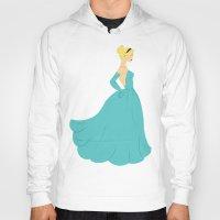 cinderella Hoodies featuring Cinderella by Eva Duplan Illustrations