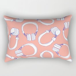 Music, Forever Rectangular Pillow