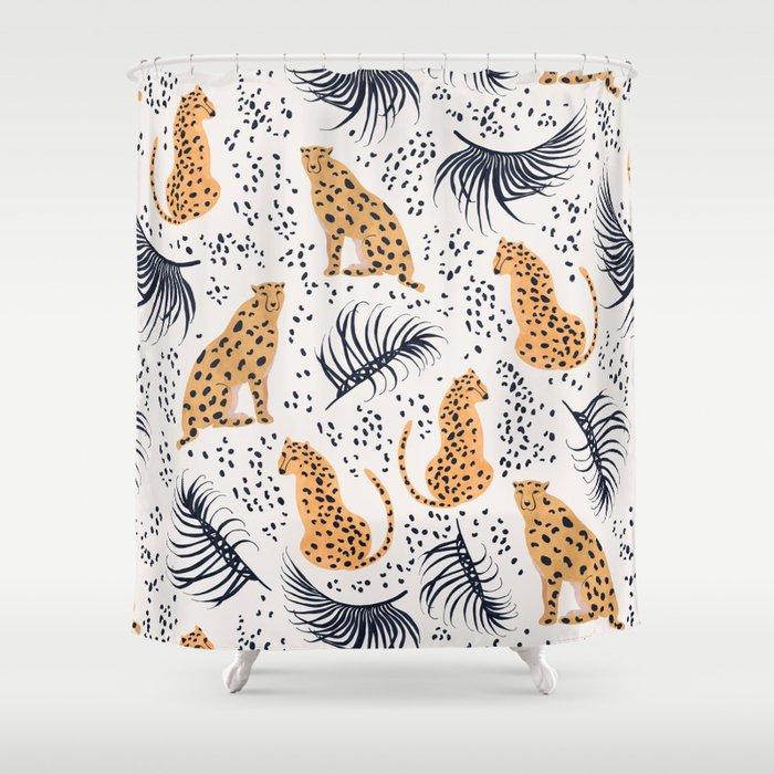 Cheetah Shower Curtain By Lidiebug