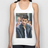 zayn malik Tank Tops featuring Zayn Malik by behindthenoise