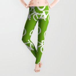 Green Bike Leggings
