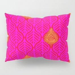 PLANTAIN PALACE - RED/PINK/ORANGE Pillow Sham