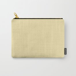 Vanilla Yellow Carry-All Pouch