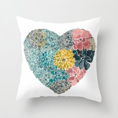 Rooted in Love No.1 Throw Pillow