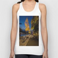 pittsburgh Tank Tops featuring PITTSBURGH FALL by Stephanie Bosworth