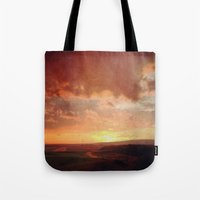 courage Tote Bags featuring Courage by Elina Cate