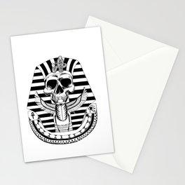 Pharao skull Stationery Cards