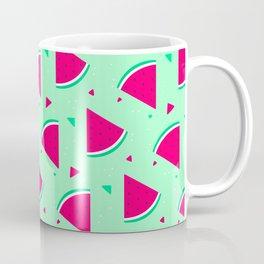 Cute Seamless Watermelon Pattern Coffee Mug