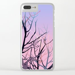 Tree skull Clear iPhone Case