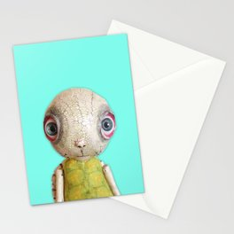 Sheldon The Turtle - Teal Blue Stationery Cards