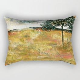 I Will Remember, Rustic Landscape Rectangular Pillow