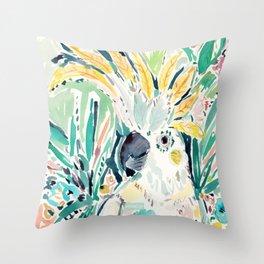 EDLOO the Cockatoo Throw Pillow