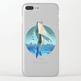 Up up and away Clear iPhone Case