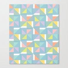 pinwheels - blue Canvas Print