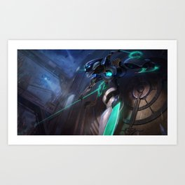 Program Camille League Of Legends Art Print
