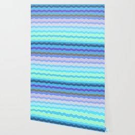 Bright Blue Bars Wallpaper