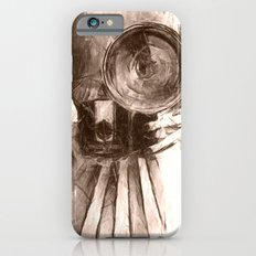 girl with camera iPhone 6s Slim Case