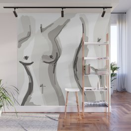 Nude Belly Wall Mural