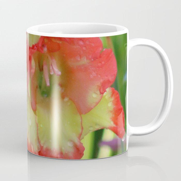 Yellow Orange Glad Flowers Coffee Mug