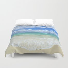 Playa Del Carmen Beach Duvet Cover