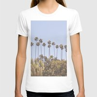 palms T-shirts featuring Palms by A. Williams