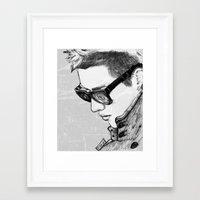 exo Framed Art Prints featuring Kris (Wu Yifan) // EXO by BucketsofBroke