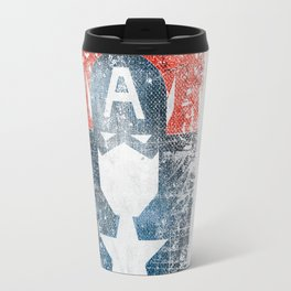 Yankee Captain grunge superhero Travel Mug
