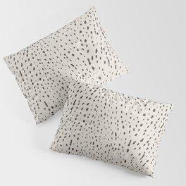 Silver Fawn Spots Pillow Sham