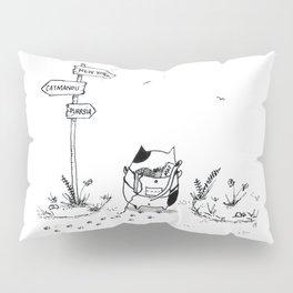 Cat Adventure Pillow Sham