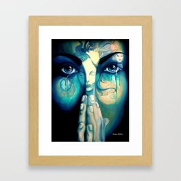 The dreams in which I'm dyin Framed Art Print