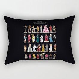 Women in the world Rectangular Pillow