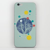 planets iPhone & iPod Skins featuring Planets by Tamsin Lucie