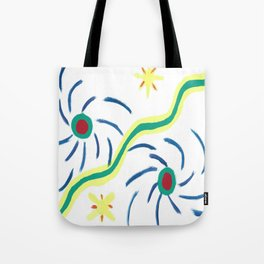 Suns and Hurricanes Tote Bag