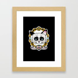 Grumpycat Framed Art Print