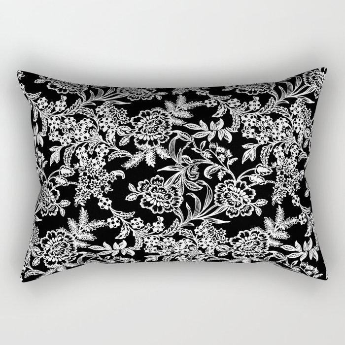 Full Moon Tea Rectangular Pillow