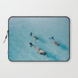 swimming in ocean Laptop Sleeve