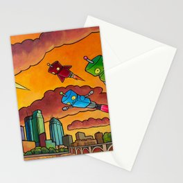 Robot - Air Traffic Stationery Cards