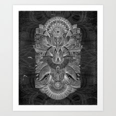 Etched Offering II Art Print