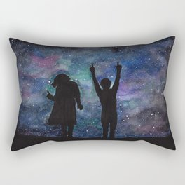 Look at the stars... (Harry Styles and Louis Tomlinson) Rectangular Pillow