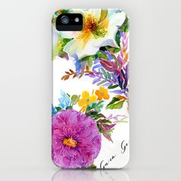 Gather Roses iPhone Case